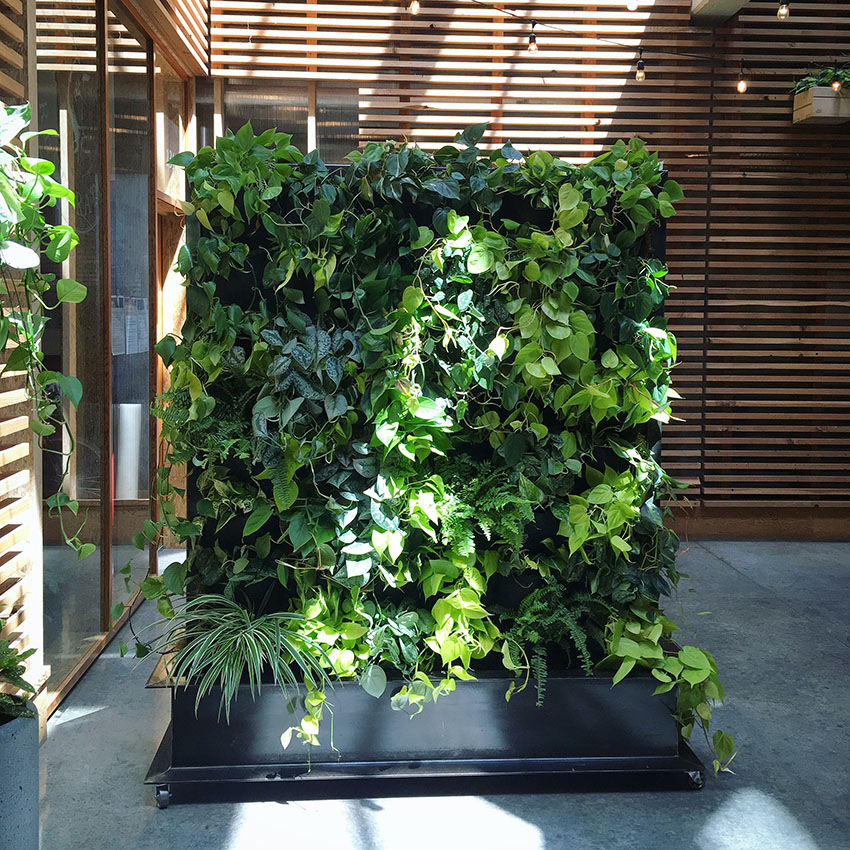 movable living wall